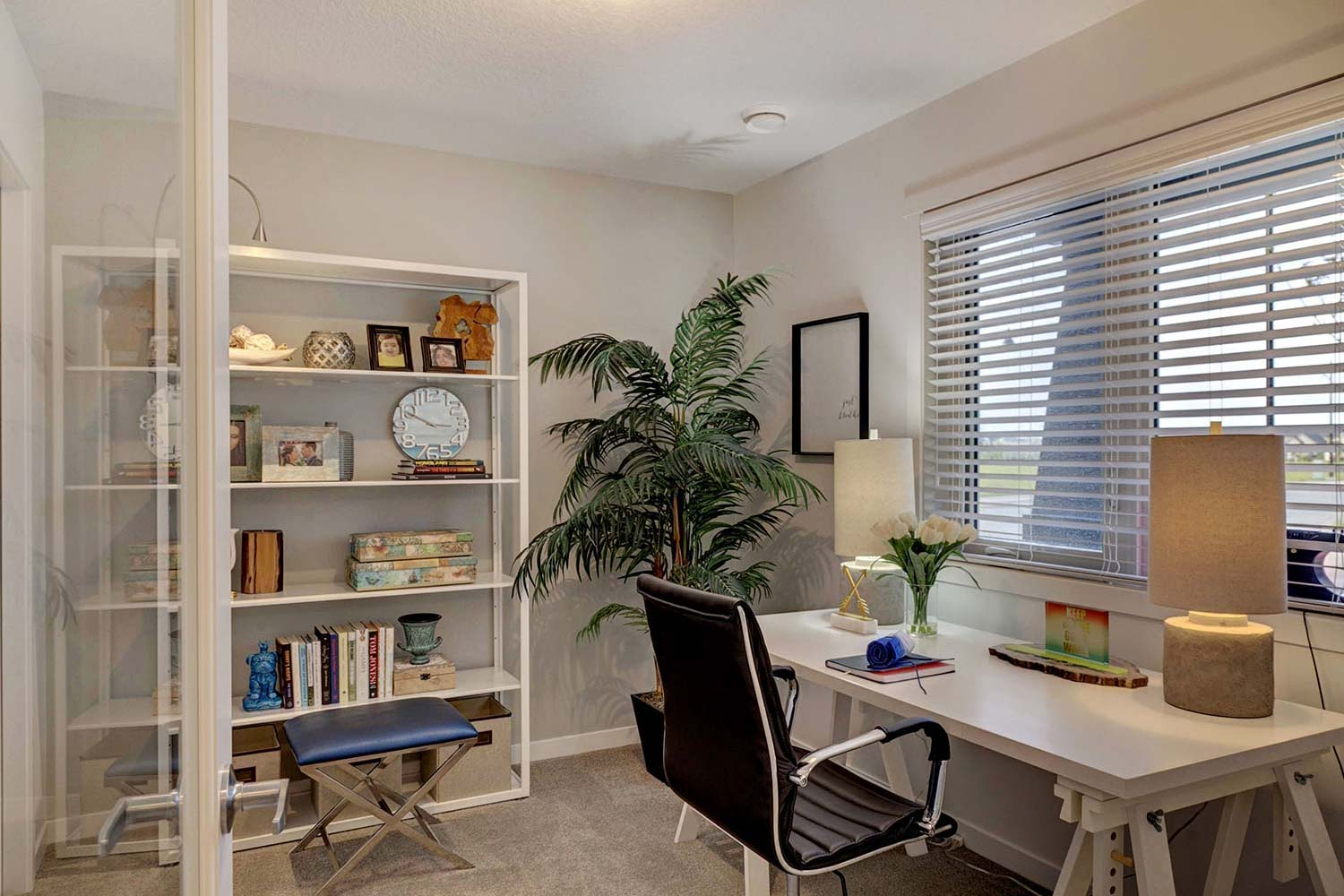 Legacy Townhome Home Office area