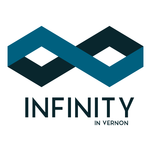 Infinity in Vernon Logo