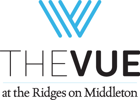 The Vue in Vernon logo