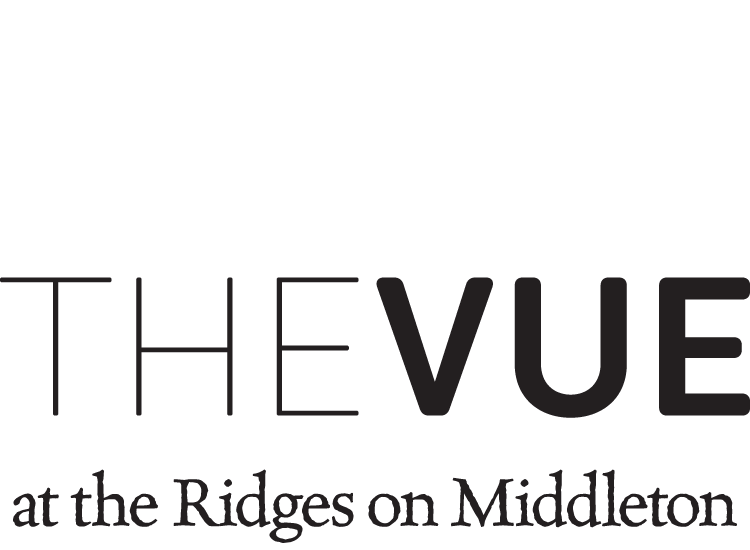 The Vue in Vernon Townhomes logo
