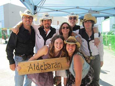 Aldebaran Homes at the Calgary Stampede