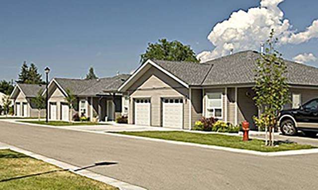 Creeks Past Project Townhomes