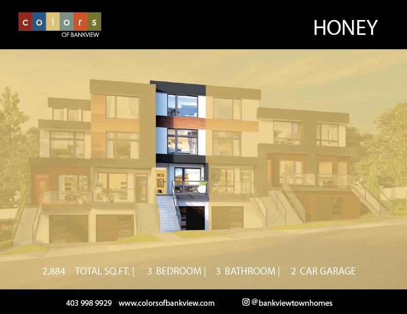 Honey Suite Location - Colours of Bankview