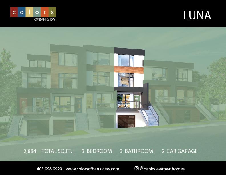 Luna Suite Location - Colours of Bankview Calgary