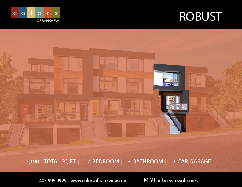 Robust - Colours of Bankview Floorplan